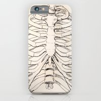 iPhone Cases featuring Ribs by Zara Simone