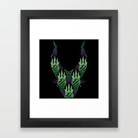 SCORCH Pattern ~ Malefic… Framed Art Print