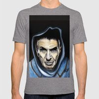 Spock Mens Fitted Tee Tri-Grey SMALL