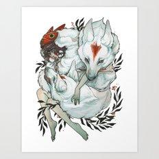 Wolf Child Art Print