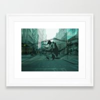 London Beware Framed Art Print