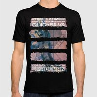 Zombie Zombie Mens Fitted Tee Black SMALL