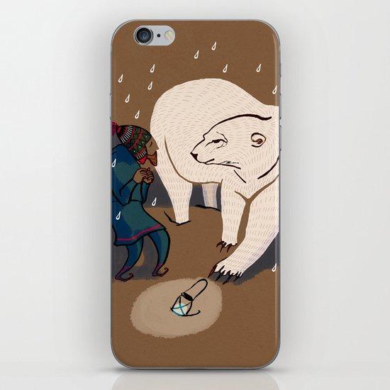 Strange encounter iPhone & iPod Skin
