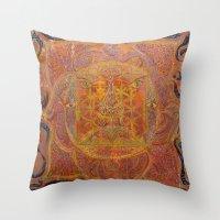 Muladhara - Root Chakra Throw Pillow