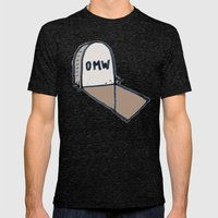 OMW Mens Fitted Tee Tri-Black SMALL
