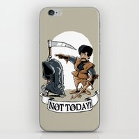 Not Today! iPhone & iPod Skin