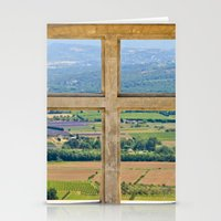 Window To The Luberon Stationery Cards