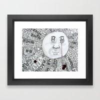 MoonTears Framed Art Print