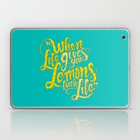 When Life Gives You Lemo… Laptop & iPad Skin