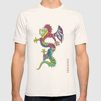 Dragon Mens Fitted Tee Natural SMALL