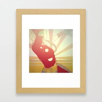 Hurry On Sundown Framed Art Print