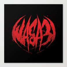Bloody.Logo. Canvas Print