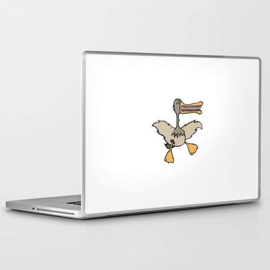 Schmucky Duck #1 Laptop & iPad Skin