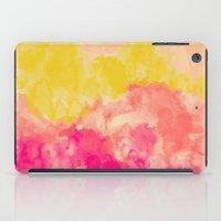 Swimming In Flowers iPad Case