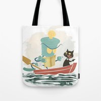 Two By Sea Tote Bag