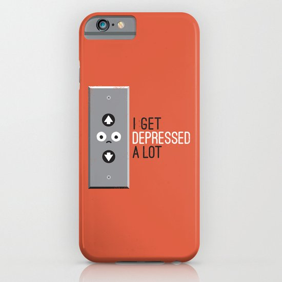 Feeling Down iPhone & iPod Case