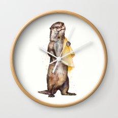 otter Wall Clock