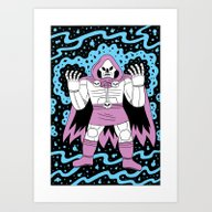 Art Print featuring Necromancer  by Jack Teagle