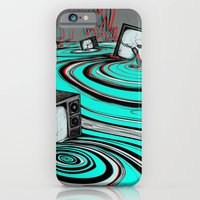 iPhone & iPod Case featuring Lake of Static by Matthew Jorde