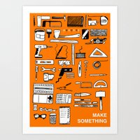 Make Something Art Print