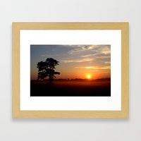 Punchestown Framed Art Print