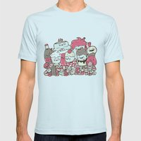 Sugar Overload Mens Fitted Tee Light Blue SMALL