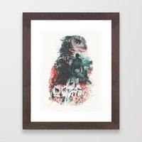 Not What They Seem Inspi… Framed Art Print
