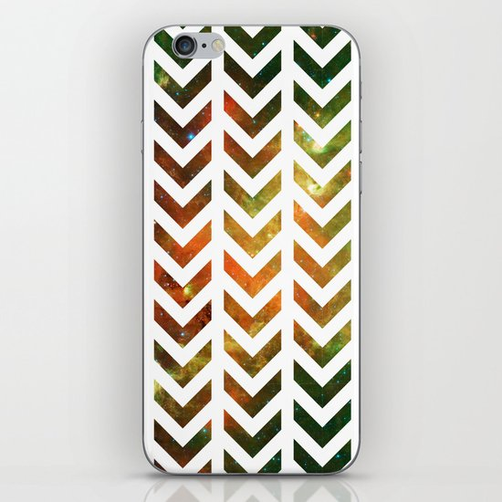 Nebula Chevrons iPhone & iPod Skin