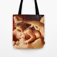 With Mother's eyes Tote Bag