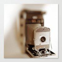 Polaroid 800 Vintage Cam… Canvas Print