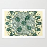 Chinese Pattern 1 Art Print