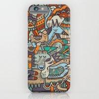iPhone & iPod Case featuring Punky Redux by uberkraaft