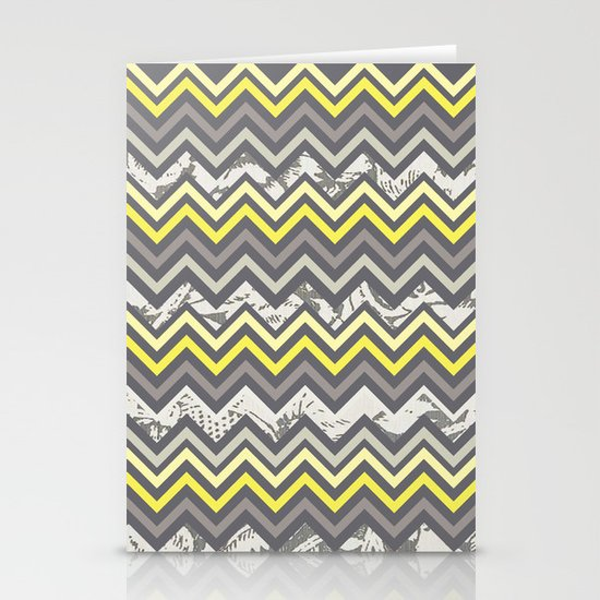Chevron Stationery Card