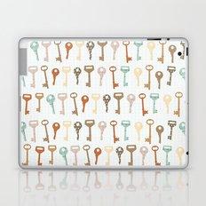 keys pattern Laptop & iPad Skin