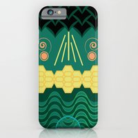 iPhone & iPod Case featuring HARMONY pattern by Daniel Bevis