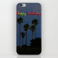 Happy Holidays iPhone & iPod Skin