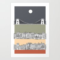 CLIFTON MOON Art Print
