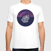 Hogwarts series (year 7: the Deathly Hallows) Mens Fitted Tee White SMALL