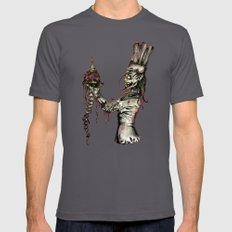 Zombie Pastry Chef Mens Fitted Tee Asphalt SMALL