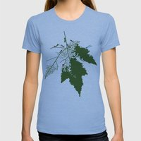 Leaf Womens Fitted Tee Athletic Blue SMALL