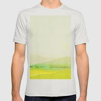 Minimal Meadow Redux Mens Fitted Tee Silver SMALL