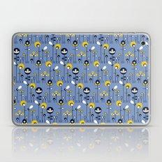 retro flower field Laptop & iPad Skin