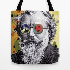 Brahms in Reel to Reel Glasses Tote Bag