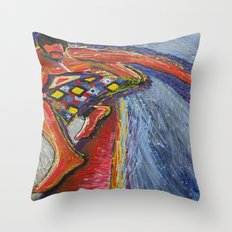 The Tom Sellecka Throw Pillow