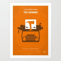 No094 My The Shining Min… Art Print