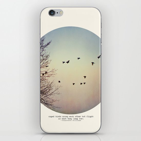 Caged Birds iPhone & iPod Skin