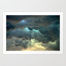 Seeing Thunder Art Print