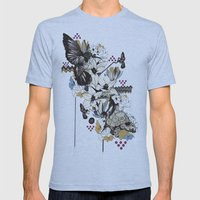 Hummingbird River Mens Fitted Tee Athletic Blue SMALL