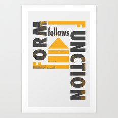 Forming the Quote Art Print