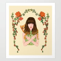 Chiquitita Art Print